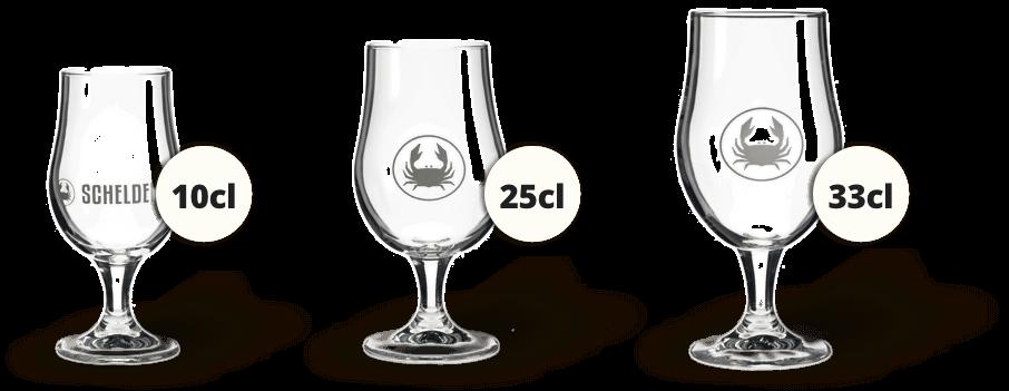 scheldebrouwerij glazen